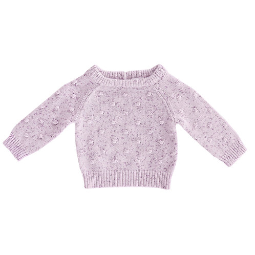 Dotted Top - Lilac
