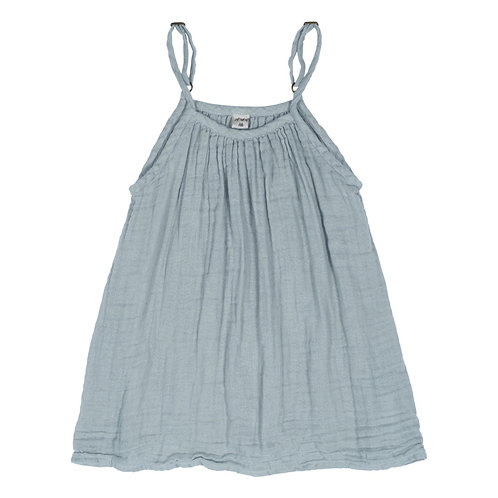 Sky Blue Organic Cotton Gown