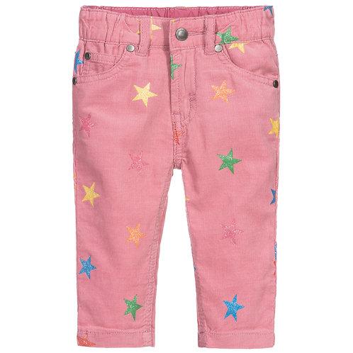 Stella McCartney - Shimmery Stars Corduroy Trousers