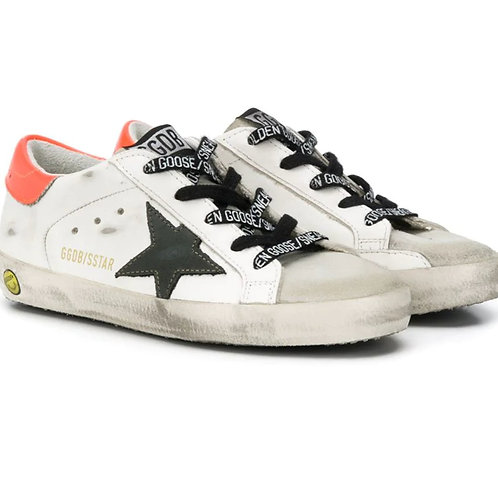 GGDB - White x Orange Low Top