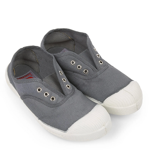 Bensimon - Basic Grey Laceless Shoes