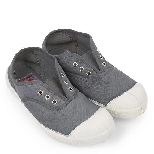 Bensimon - Basic Grey Laceless Shoes