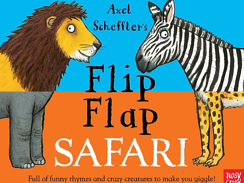 Flip Flap Safari Book