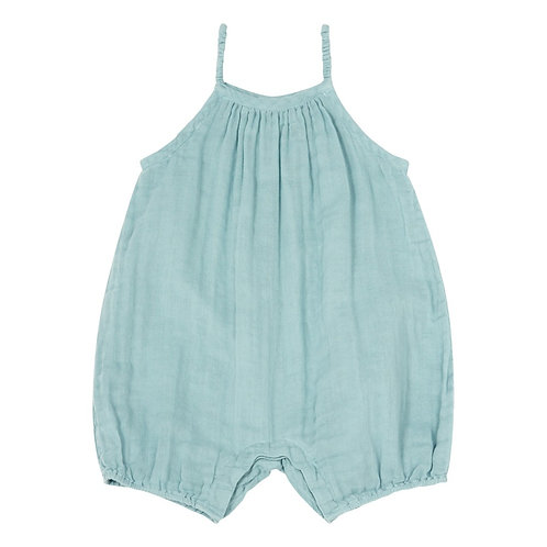 Sweet Blue Organic Cotton Romper