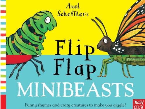 Flip Flap Mini beasts Book