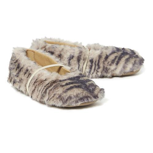 Pèpè - Faux Fur Multi Flats