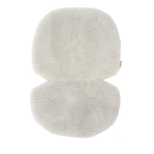 Sheepskin for Stroller and Bassinet - Light Gray