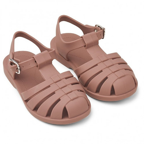 Dusty Rose Jelly Sandals