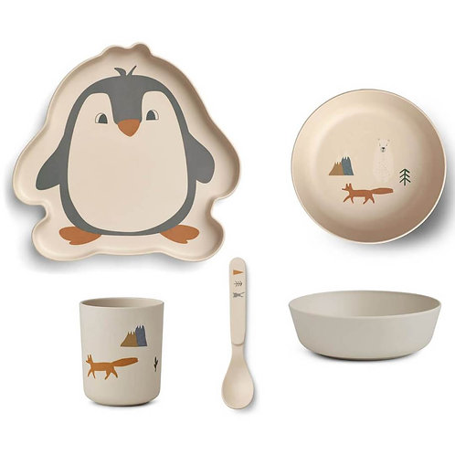 Northie Friends Bamboo Tableware Set