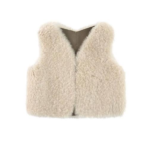 Reversible Sheepskin Vest