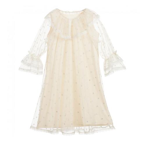 Ivory Tulle Nightdress