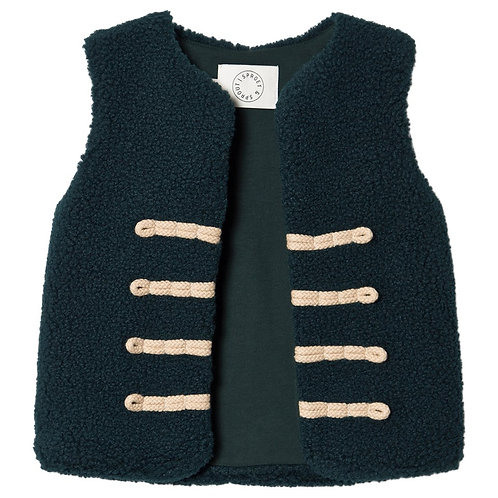 Sproet - Green Military-Style Gilet
