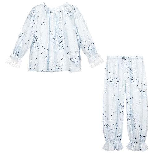Amiki - Star 2piece Pajama - Blue