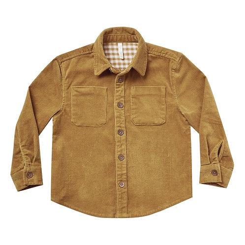 Rylee & Cru - Camel Corduroy Shirt