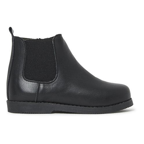 Babywalker -  Black Leather Boots