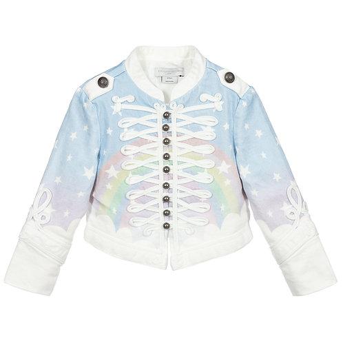 Stella McCartney - Rainbow Denim Jacket