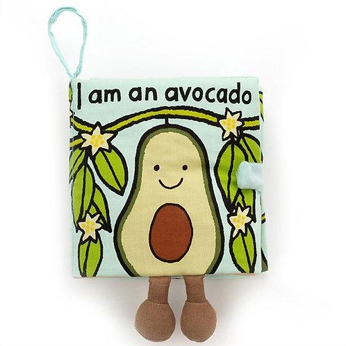 Avocado Baby Fabric Book