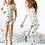 Thumbnail: White Stars Pajama Set