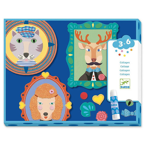 Felt Family Portraits Collage Craft Set