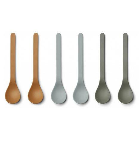 Natural Mix Bamboo Spoon Set