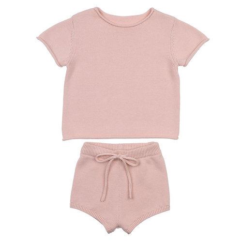 Blush Knit Set