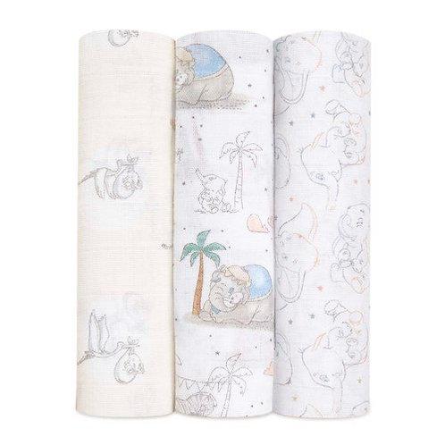 Dumbo Swaddles - (3 Pack)