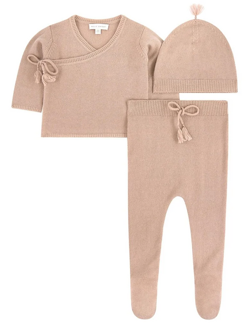 Rose Wool Cashmere Set