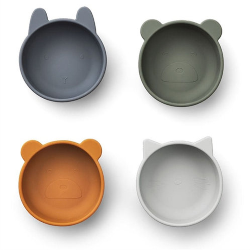 Natural Friends Silicone Bowls Set
