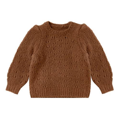 Rylee & Cru - Camel Wool Balloon Sweater