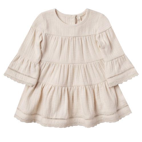 Cotton Belle Dress - Marshmellow