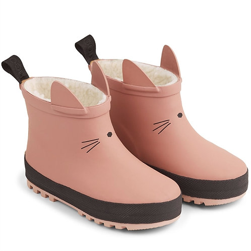Thermo Rain Boots - Rose Kitty