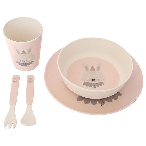 Bunny Bamboo Meal Set
