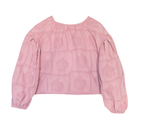 Flowy Orchid Blouse - Rose