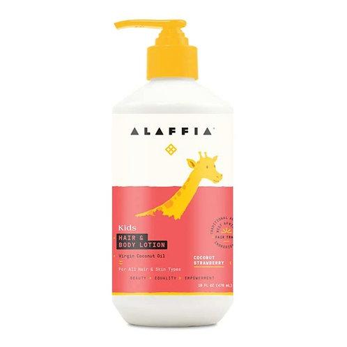 Alaffia - 2in1 Hair & Body Moisturizer - Coconut Strawberry