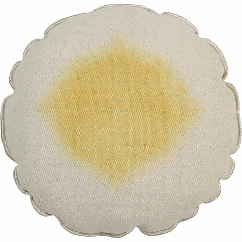 Cushion Tie Dye - Yellow