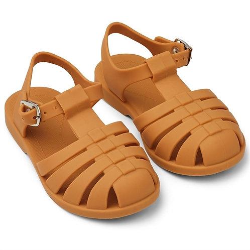 Mustard Jelly Sandals
