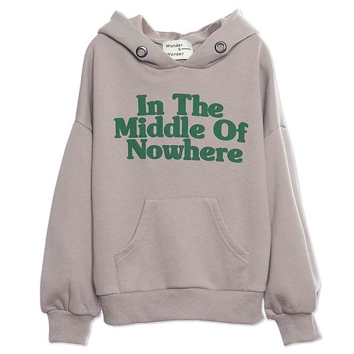 In The Middle of Nowhere Grey Hoodie