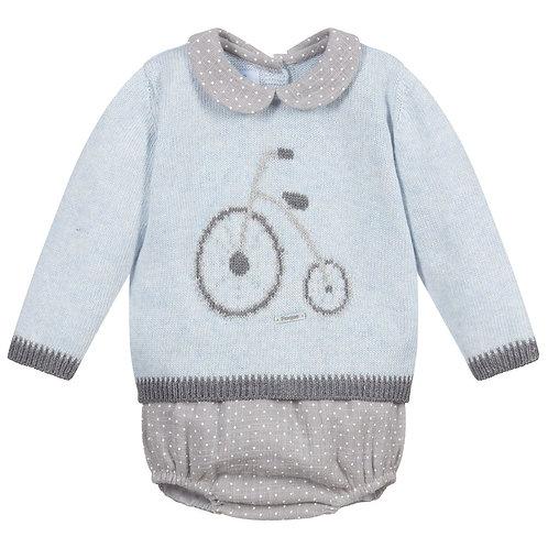 Foque - Grey Penny Farthing Wool Set