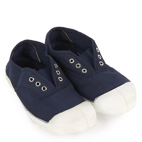 Bensimon - Basic Navy Laceless Shoes