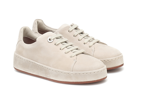 Loro Piana - Pale Beige Suede Leather