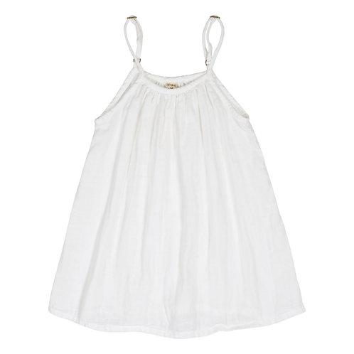 White Organic Cotton Gown