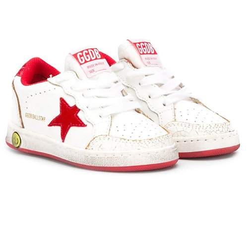 GGDB - Red Ball Star Sneakers