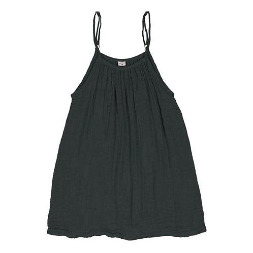 Dark Grey Organic Cotton Gown