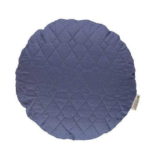 Round Shaped Cushion - Blue
