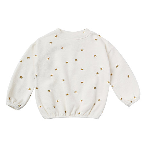 Rylee & Cru - White Star Sweatshirt