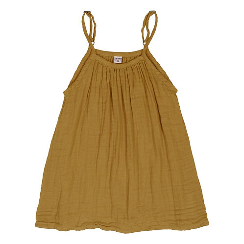 Mustard/Gold Organic Cotton Gown
