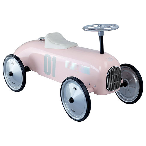 Vintage Car - Light Pink
