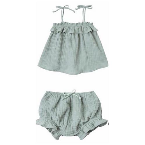 Minty Baby Girls Set