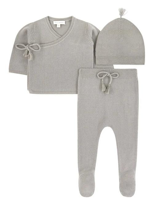 Alabaster Wool Cashmere Set