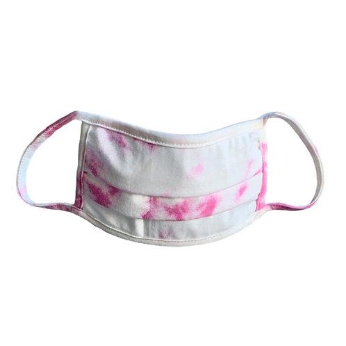 Pink Tie Dye Face Mask